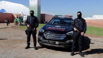 صورة السلطات المغربية تلقي القبض على ميسي في مراكش في المغرب