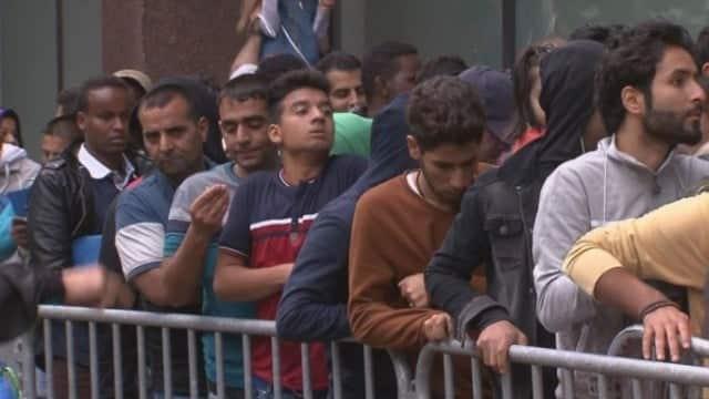 الهجرة الي اوروبا