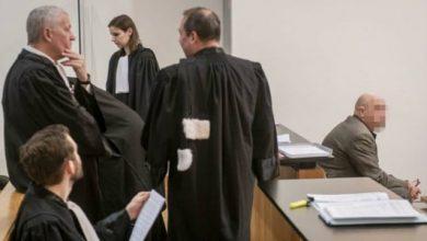 قاعة المحكمة في بلجيكا