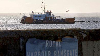 صورة وفاة أول لاجئ في بحر الشمال بعد محاولة العبور من فرنسا الي بريطانيا