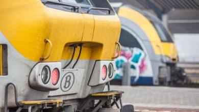 حادث قطار في بلجيكا
