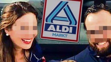صورة زوجة ثري ألماني مالك لسلسلة متاجر ألدي تركته لأجل لاجئ أفغاني !