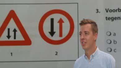 صورة امتحان الرخصة النظري في اللغة الهولندية.. الاشارات المرورية المهمة 2020