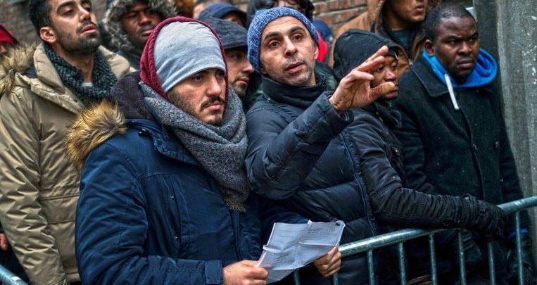 كم عدد اللاجئين في بلجيكا