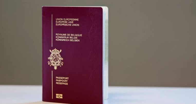 جواز سفر بلجيكي