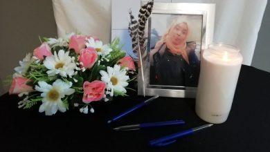 صورة بلجيكي يدهس لاجئة مما أدي الي وفاتها في مدينة هوسدن زولدر في بلجيكا