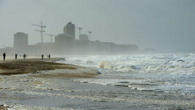 صورة ما هي توقعات عاصفة ايلين القادمة نهاية هذا الأسبوع الي بلجيكا وهل هي قوية !
