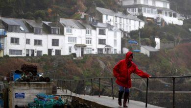 صورة عاصفة دينيس سوف تكون قوية جدا في بريطانيا ولحسن الحظ أقل عنفا في بلجيكا