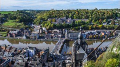 صورة بالصور مدينة دينانت والتي تعتبر من أجمل المدن في بلجيكا 2020