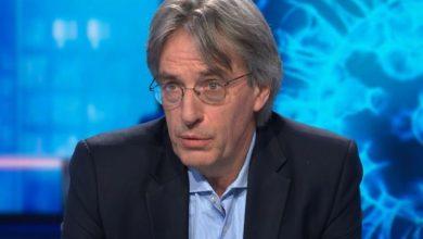 صورة عالم أحياء بلجيكي يقول أن أفضل سيناريو 7500 حالة وفاة بسبب فيروس كورونا في بلجيكا