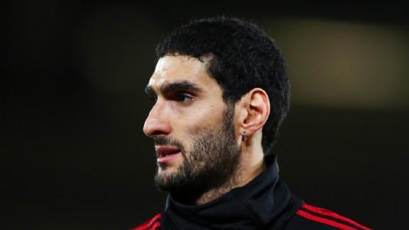 اللاعب البلجيكي مروان فيلايني
