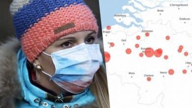 صورة كم عدد المصابين بفيروس كورونا حتي اليوم في بلجيكا