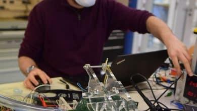 صورة تصميم جهاز تنفس فى جامعة بروكسل الحرة في بلجيكا