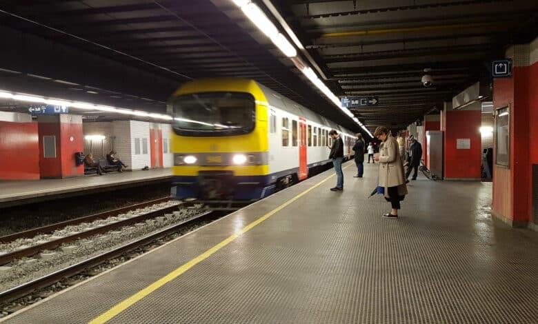 محطة السكك الحديدية البلجيكية