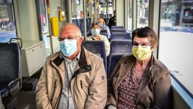 صورة وسائل النقل العام في بلجيكا تفرض إرتداء أقنعة الفم إبتداءا من 4 مايو