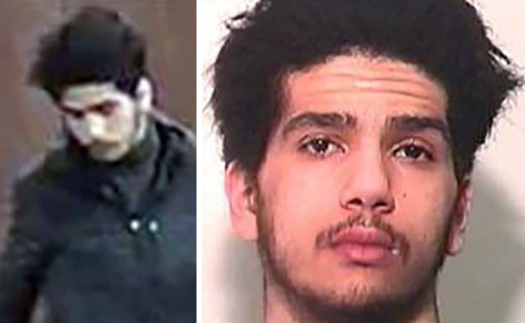 موسي قروي يسرق سلاح شرطة في بروكسل