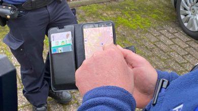 صورة الشرطة البلجيكية تقوم بمصادرة هاتفك اذا لم تلتزم باجراءات فيروس كورونا