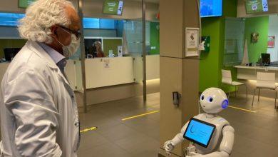 """صورة هل سينجح الروبوت""""بيبر"""" في مهمته لمكافحة كورونا في بلجيكا"""