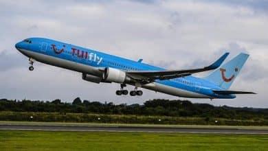 صورة بيان شركة TUI للطيران عن استئناف رحلاتها الجوية