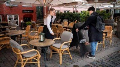 صورة المقاهي في بروكسل وتوسيع الفناء الخاص بها