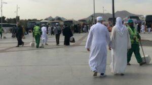 صورة الأب والأم في مكة