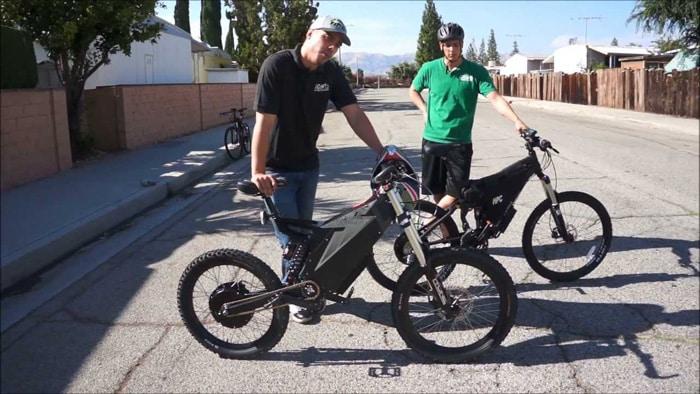 الدراجات الكهربائية