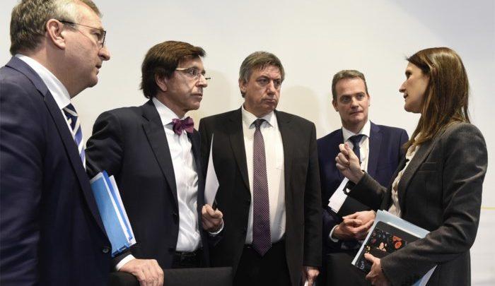 وزراء بلجيكيون