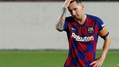 صورة ميسي ينهي مفاوضات عقده مع نادي برشلونة الاسباني
