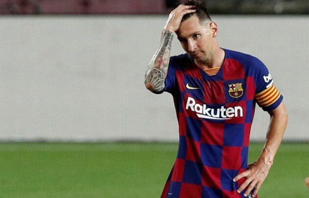 عقد ليونيل ميسي مع برشلونة