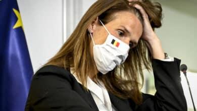 """صورة حديث رئيسة الوزراء البلجيكية """"ويلميس"""" عن خطة مواجهة كورونا طويلة الأمد"""