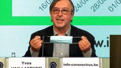 عالم الفيروسات البلجيكي في الحجر الصحي