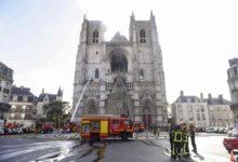 Photo of طالب لجوء متطوع يعترف بحرق كاتدرائية نانت في فرنسا