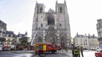 صورة طالب لجوء متطوع يعترف بحرق كاتدرائية نانت في فرنسا