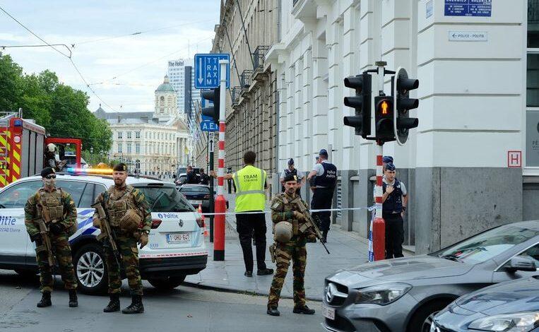 انتشار الجيش في بروكسل