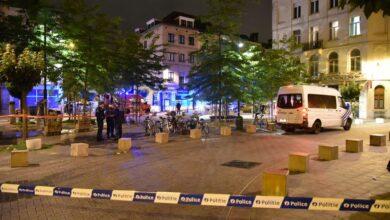 صورة مقتل شاب في إطلاق نار في بروكسل وإصابة شابين آخرين