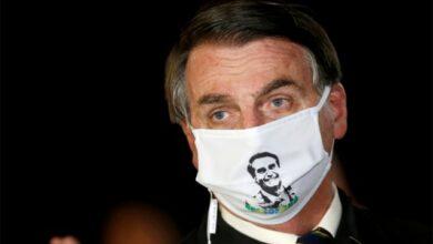 صورة اصابة الرئيس البرازيلي جايير بولسونارو بفيروس كورونا المستجد