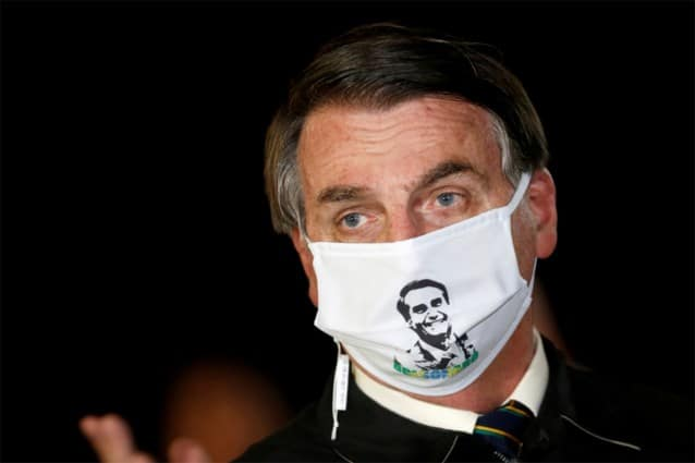 اصابة رئيس البرازيل بكرونا