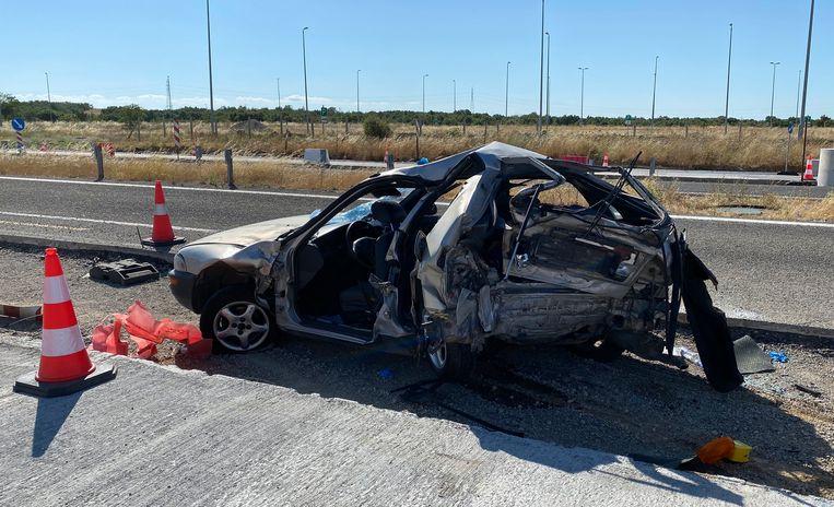 حادث سيارة في اليونان