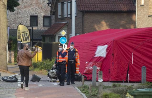 حادث دراجة نارية في بلجيكا