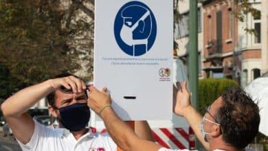 صورة بعد اجتماع مجلس الأمن القومي البلجيكي.. ما هو مصير قناع الفم في بلجيكا