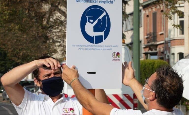قناع الوجه في بلجيكا