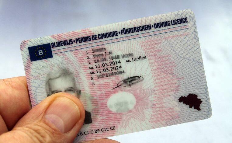رخصة قيادة في بلجيكا