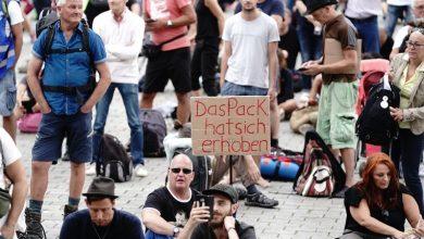 Photo of الألمان يتظاهرون مرة أخرى في الشوارع ضد إجراءات كورونا