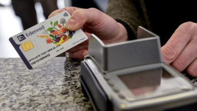 بطاقة شراء مواد في بلجيكا
