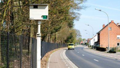 القيادة بسرعة في بلجيكا