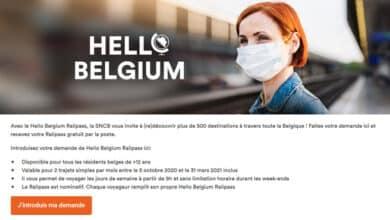 صورة ما هي شروط تذاكر القطار المجانية التي حصلت عليها في بلجيكا
