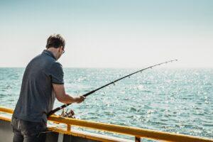 صيد السمك في بحر أوستند