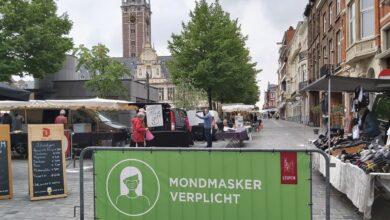 صورة أخبار بلجيكا اليوم .. رجل ينطح ضابط شرطة في وسط مدينة لوفين