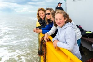 زيارة التوربينات الهوائية في بحر اوستند