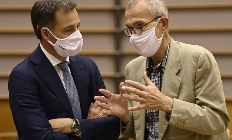 وزير الصحة في بلجيكا